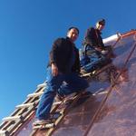 Erneuerung Kupferdach