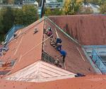 Dach abtragen