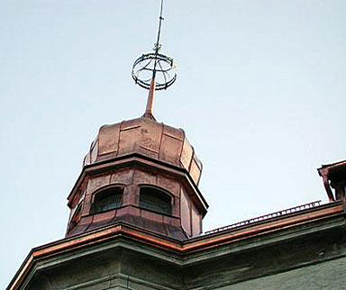 Kupferdach in Tirol